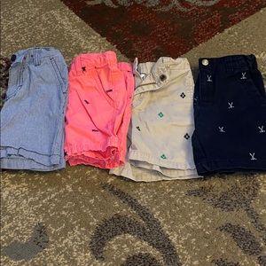 Bundle of boys shorts size 4
